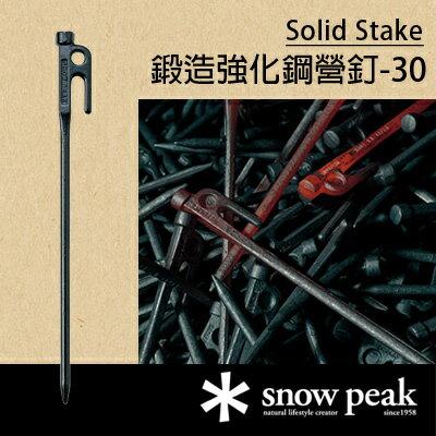 【鄉野情戶外用品店】 Snow Peak |日本|  鍛造強化鋼營釘-30/R-103 【30cm】