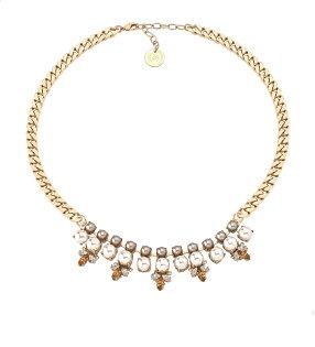 【515 URBAN HERITAGE】ANTON HEUNIS MADRID 復古馬戲團系列水晶珍珠奢華晶鑽項鍊