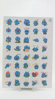 【桄群環保黑白板專家】究達鳥40隻貼紙