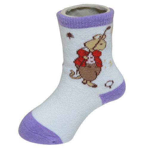 『121婦嬰用品館』狐狸村 高爾夫短筒襪 (11-13cm) 1
