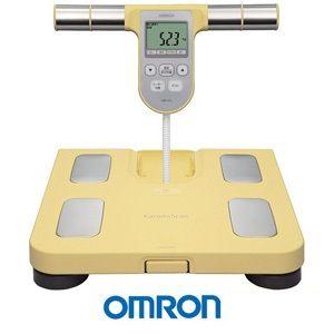 OMRON歐姆龍體重體脂肪計HBF-370(黃色),限量加贈歐姆龍專用提袋及計步器HJ325