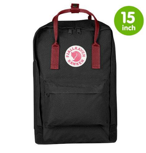 瑞典 FJALLRAVEN KANKEN laptop 15inch 550-326黑/公牛紅 小狐狸包 1