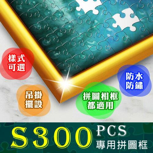 【P2 拼圖系列】S300 片拼圖鋁框 38 x 26 cm (多款顏色可選)