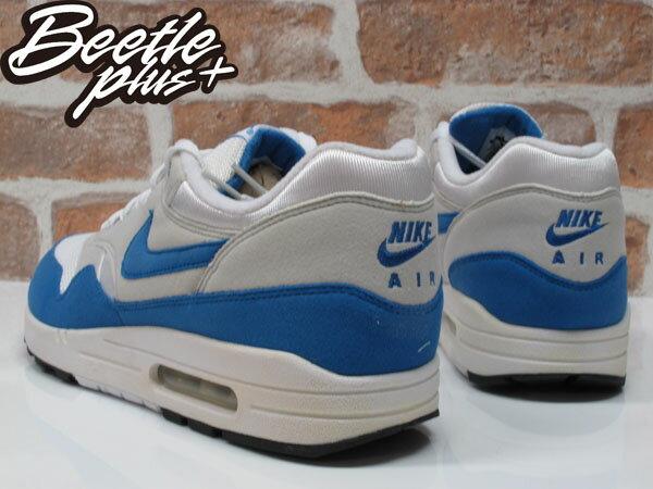 BEETLE PLUS NIKE AIR MAX 1 白藍 北卡 喬丹 90 95 慢跑鞋 男生 運動鞋 氣墊 378830-141 2