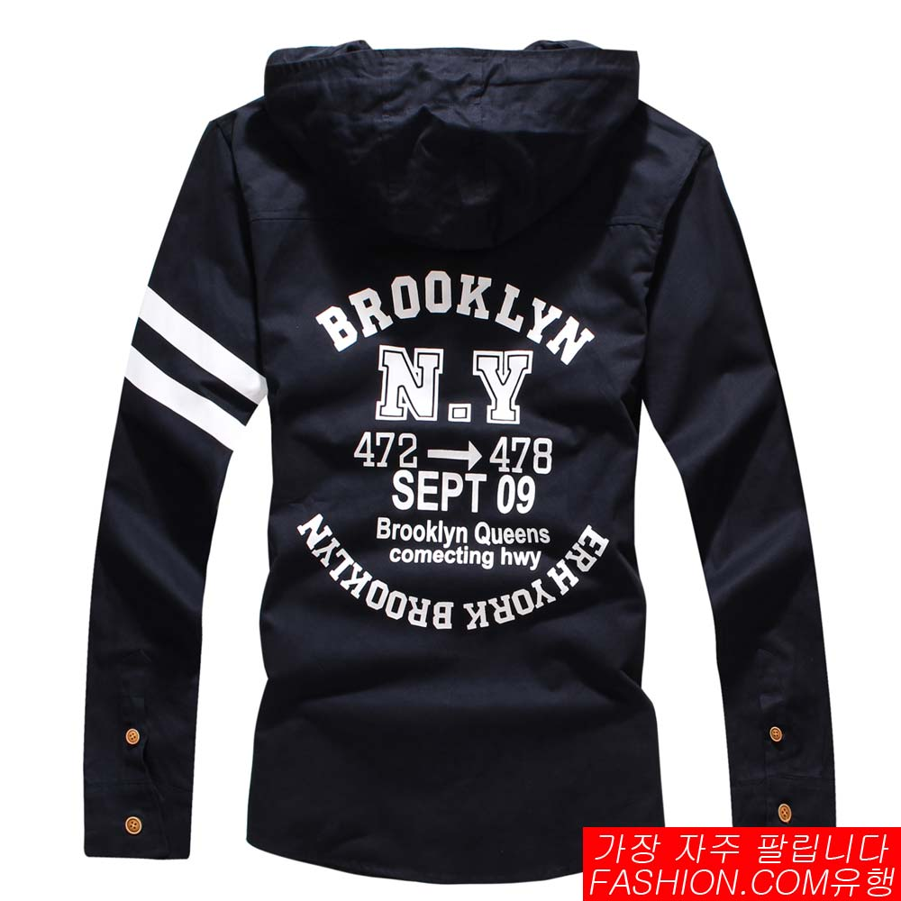 DITION  美式雙線臂章BROOKLYN襯衫外套 3