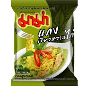 泰國進口MAMA泡麵綠咖哩麵[TA012]