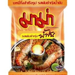 泰國進口MAMA泡麵特級酸辣味麵/泰式酸辣蝦味麵[TA012]