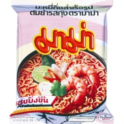 泰國進口MAMA泡麵特級酸辣味麵/泰式酸辣蝦味麵[TA012] 1
