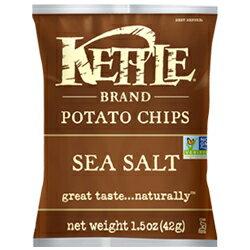 *即期促銷價*美國原裝進口 KETTLE K董 洋芋片海鹽口味[US001] 0