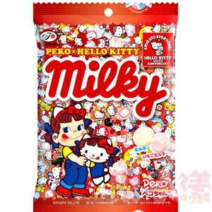 日本不二家 PekoXHello Kitty Milky 牛奶糖 內含二種口味 0