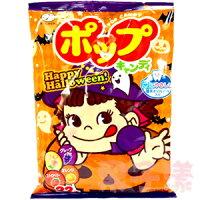 萬聖節Halloween到日本不二家POP 棒棒糖 萬聖節限定包裝 (內含草莓/桃子/葡萄/柳橙)