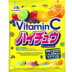 日本森永VitaminC嗨啾綜合水果軟糖 (內含四種口味) - 限時優惠好康折扣