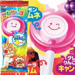 日本LOTTE 羅德 不可思議棒棒口香糖 (棒棒糖+口香糖)[JP008]