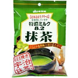 日本UHA味覺糖 特濃8.2 石臼抹茶牛奶糖果[JP081] 0