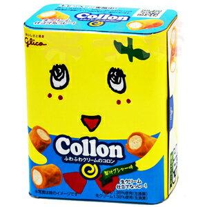 日本 固力果 Collon 船梨精 水梨娃娃 梨汁口味 捲心酥 奶油捲心餅 0