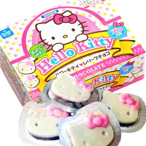日本 丹生堂 Hello Kitty造型巧克力(粉色) [JP131] 0