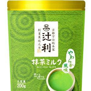 日本片岡 辻利宇治抹茶牛奶 冷熱皆可沖泡 [JP201]