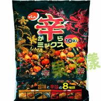 日本天六 辣味什錦豆果子(10小袋入)[JP065] 0