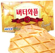 韓國CROWN 皇冠奶油鬆餅 餅乾 - 限時優惠好康折扣