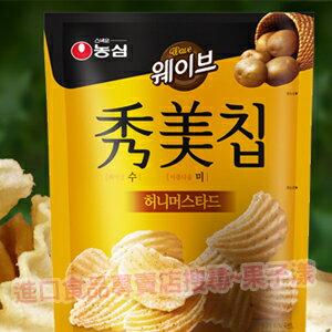 韓國農心 秀美洋芋片 (蜂蜜芥末味)[KR151] - 限時優惠好康折扣
