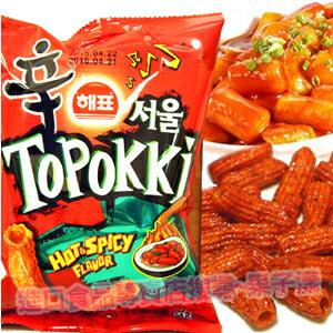 韓國進口 海牌辣炒年糕餅乾條[KR165] 0