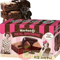 韓國Market O布朗尼蛋糕 巧克力口味 李昇基代言 0