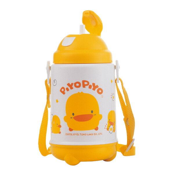 『121婦嬰用品館』黃色小鴨 彈跳保溫保冷水壺420ml 0
