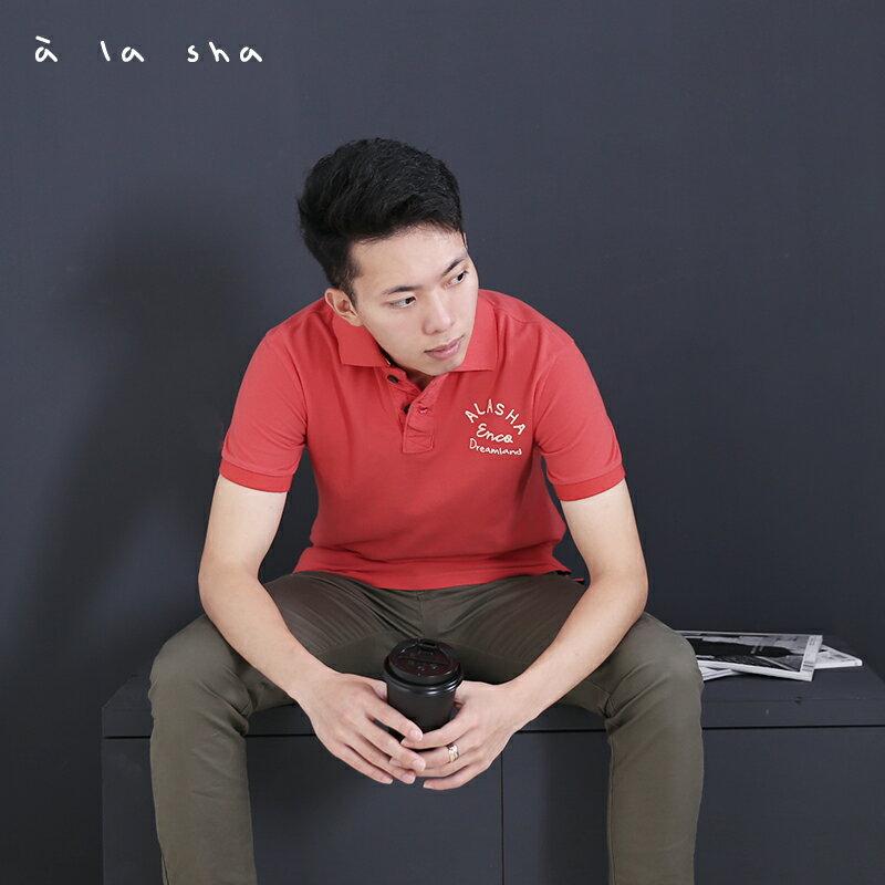 a la sha enco Dreamland印花POLO衫 (男) 1