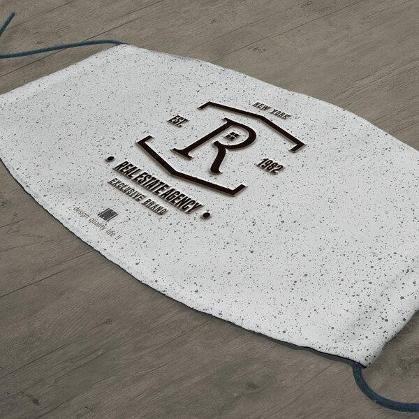 [ IHERMI ] 個性口罩 / 個性字母R / 愛好蜜 MIT台灣製造好安心 環保染劑使用 極細緻印染技術 1