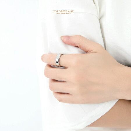 柒彩年代【NC96】超簡約素面鋼製戒指~極簡亮面.抗過敏.氧化~單支價格 0