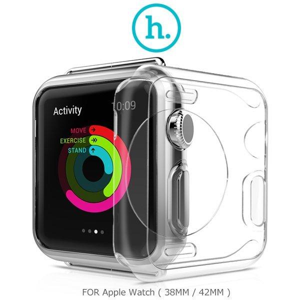 HOCO Apple Watch (38mm / 42mm) 超薄TPU保護套/錶背鏤空設計/防刮/通透【馬尼行動通訊】