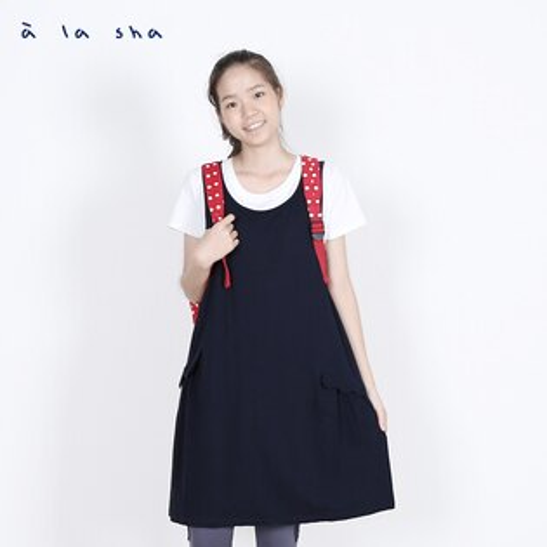 a la sha enco 蝴蝶結裝飾洋裝