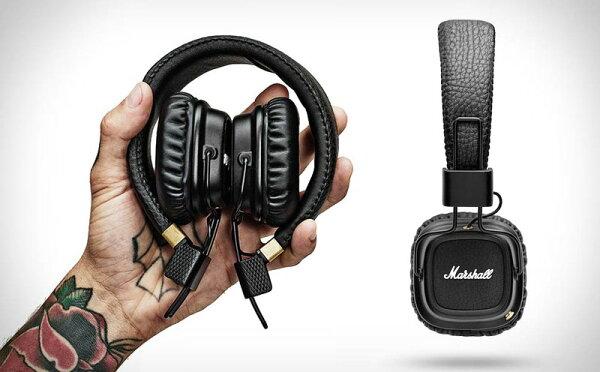 {音悅音響}Marshall Major II BT 藍牙 無限耳罩耳機 超高CP值 搖滾文青 接聽來電 折疊收納