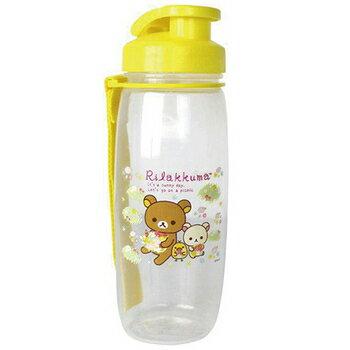『121婦嬰用品館』朴蜜兒拉拉熊水壺700cc 粉 , 黃 1