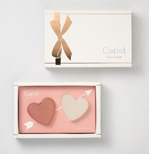 Cupid Gift Set 邱比特蝸牛液手工美容皂愛心小禮盒(粉白)組 30g x 2