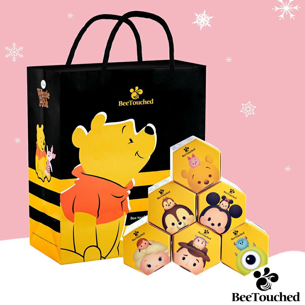 蜜蜂工坊- 迪士尼tsum tsum系列手作蜂蜜( 完整六入組)  ★ 米奇+維尼+胡迪+艾莎+大眼仔+奇奇 ★ 聖誕限定 送 維尼提袋 0