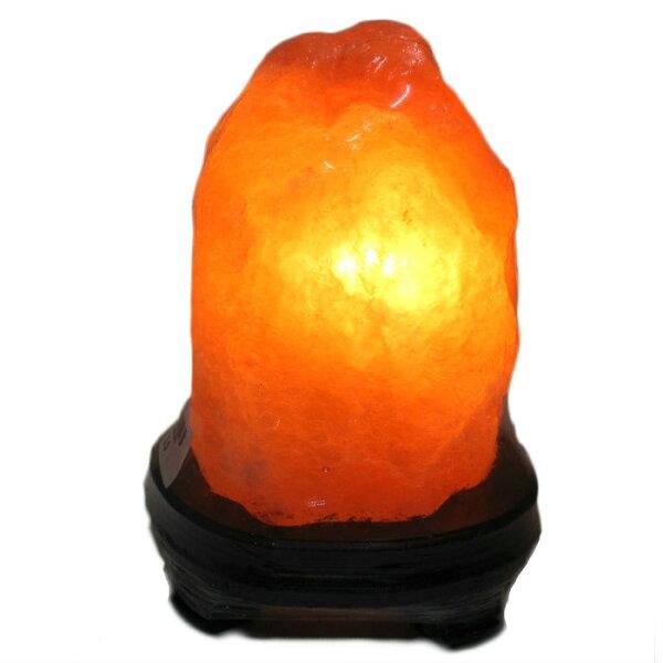 【喜馬拉雅鹽燈~小~玫瑰鹽燈*1】含座/燈泡/電線/招財符/說明書 1.8公斤~2.2公斤間