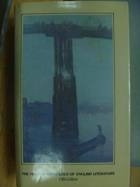 ~書寶 書T4/原文小說_ZKL~The norton anthology of engl