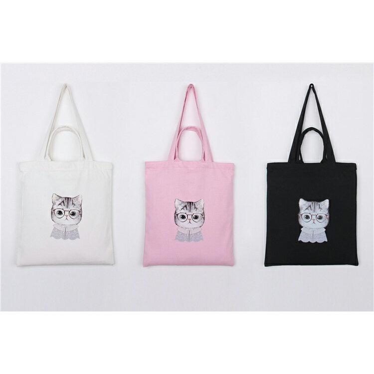 手提包 手提包 帆布袋 手提袋 環保購物袋--手提/單肩/拉鏈【SPA92】 BOBI  10/06 1