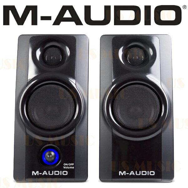 【非凡樂器】『M-AUDIO Studio Phile AV20 AV-20』 錄音室級電腦 監聽喇叭 二顆一對