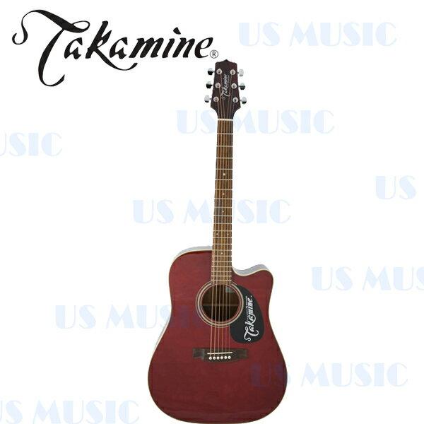 【非凡樂器】Takamine民謠吉他D-21C 酒紅色 全球音樂界信賴的吉他品牌 以多項特色成為眾樂手的最愛