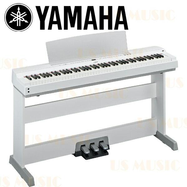 【非凡樂器】『日本原裝進口全新品』時尚白色YAMAHA P255 (P-255) 日本製數位鋼琴/電鋼琴