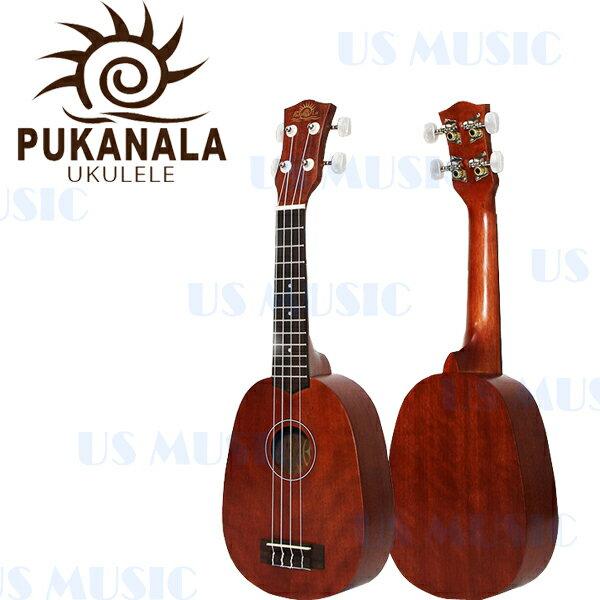【非凡樂器】『Pukanala PU-11PN』21吋那督木烏克麗麗Ukulele/音色與手感兼具/原廠全配
