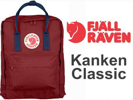 瑞典 FJALLRAVEN KANKEN  Classic 326-540 Ox red & Royal Blue 公牛紅/皇家藍 小狐狸包