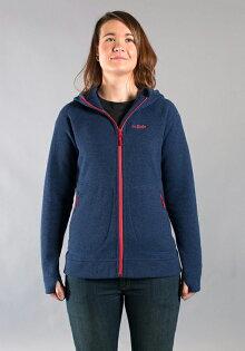 【鄉野情戶外專業】Rab |英國|QUEST 刷毛外套 女款/保暖外套 連帽外套/QFA-78