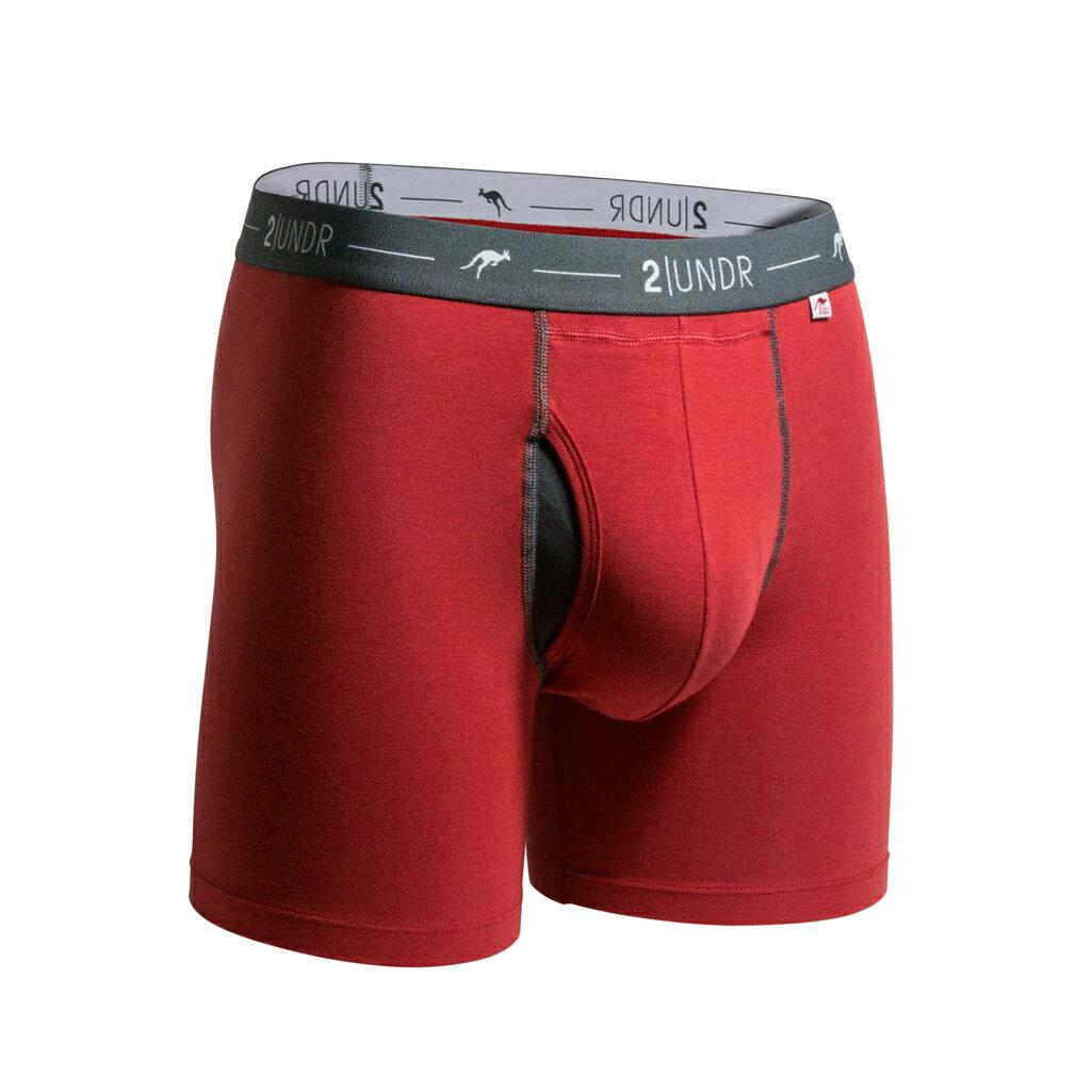 2UNDR【DAY SHIFT】男性內著Brick Red(6吋) 0
