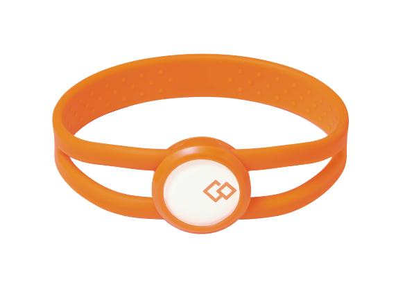 Colantotte直營 專櫃 BOOST BRACELET 防水磁石手環  橘
