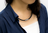 Colantotte直營網路專櫃COLANTOTTE NECKLACE CREST 磁石項鍊/黑 1