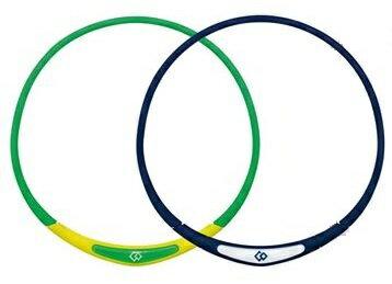Colantotte直營網路專櫃 FLEX NECK Ⅰ 磁石防水型項圈 / 海軍藍/萊姆綠 0