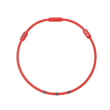 Colantotte直營網路專櫃 WACLE NECK Ge+ 磁石/鈦鍺(TG稀有金屬)項圈/紅色 0